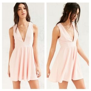 Urban Outfitters Lucca Couture Plunge Dress